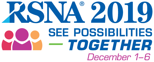RSNA 2019 Chicago Illinois, McCormick Place December 1-6, 2019