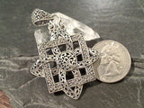 Large Sterling Silver Pendant