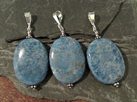 Denim Lapis, Sterling Silver Pendant