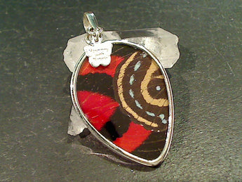 Butterfly Wings, Sterling Silver Pendant