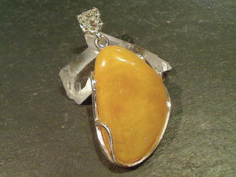 Copal, Sterling Silver Pendant