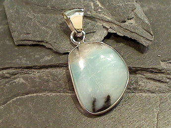 Amazonite, Fine Sterling Pendant