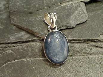 Kyanite, Sterling Silver Pendant