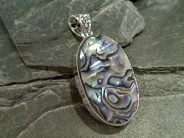 Abalone, Sterling Silver Pendant