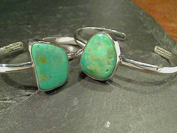 Campo Frio Turquoise, Fine Sterling Cuff