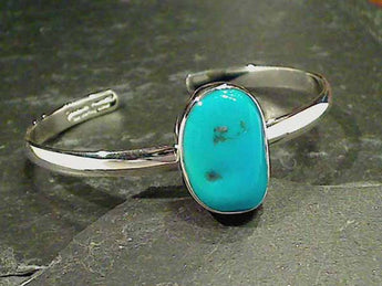 S.Beauty Turquoise, Fine Sterling Cuff