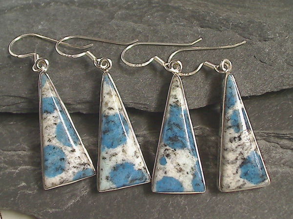 K2 Stone, Sterling Silver Earrings