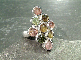 Size 5.75 Tourmaline, Sterling Silver Ring