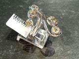 Size 8 Citrine, Sterling Silver Ring