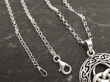 24'' 2.5mm Round Rolo Chain, Sterling Silver