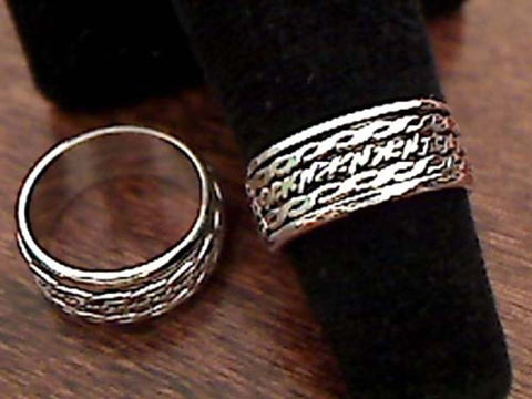 Size 6 Sterling Silver Spinner Ring