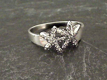 Size 8.75 Sterling Silver Starfish Ring