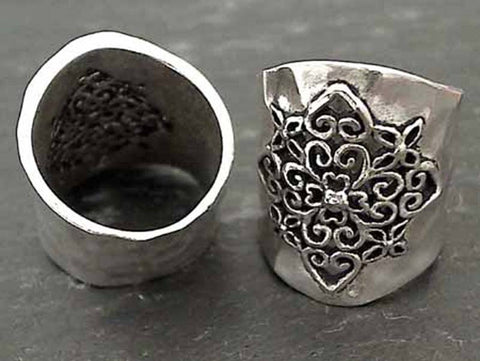 Size 9.5 Sterling Silver Ring
