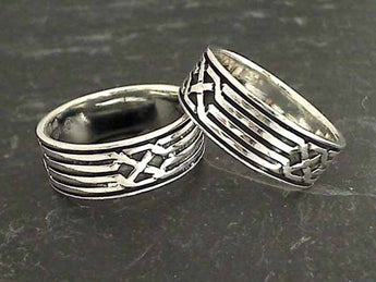 Size 13.5 Sterling Silver Ring