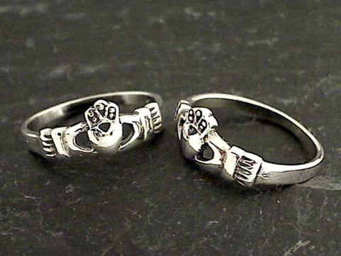 Size 5.75 Sterling Silver Claddagh Ring