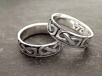 Size 10.25 Sterling Silver Celtic Style Ring