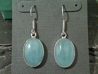 Chalcedony, Fine Sterling Earrings