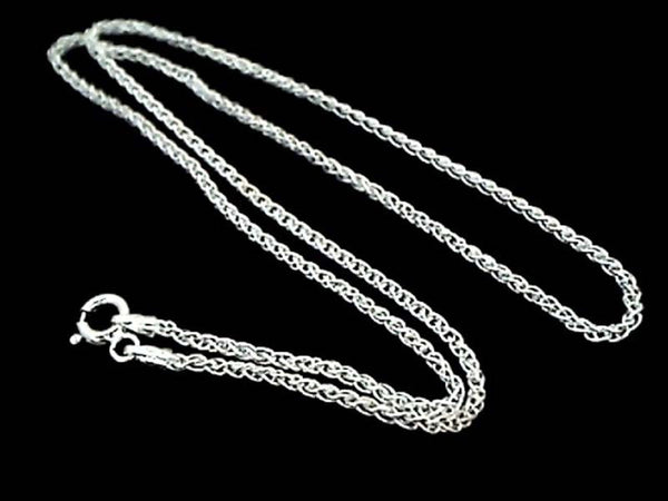 "20"" THIN WOVEN CHAIN - STERLING SILVER"