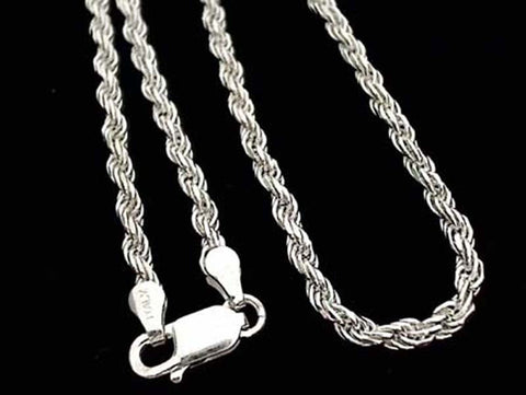 "16"" Thick Gauge (3mm) Rope Chain"