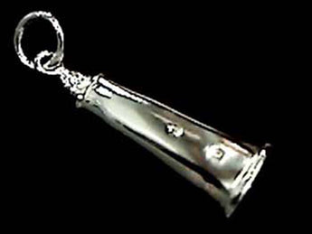 STERLING SILVER OCRACOKE LIGHTHOUSE CHARM