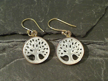 Mother of Pearl, Alchemia Earrings