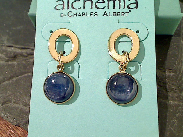 Kyanite, Alchemia Earrings
