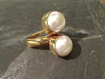 Pearl, Alchemia Adjustable Ring