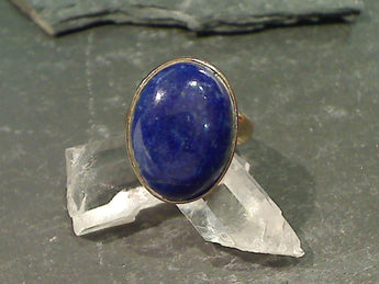 Lapis Lazuli, Alchemia Adjustable Ring