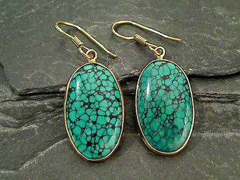 Turquoise, Alchemia Earrings