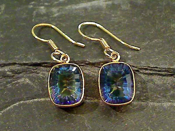 Mystic Quartz, Alchemia Earrings