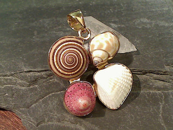 Sea Shells, Alchemia Pendant