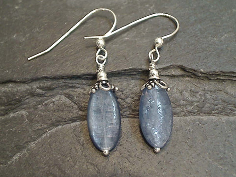 Kyanite Sterling Silver Earrings