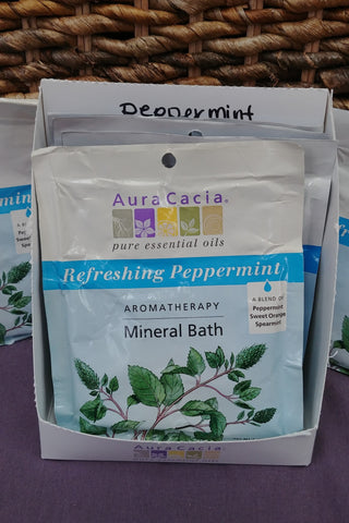 Peppermint Aromatherapy Refreshing Mineral Bath