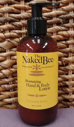 Coconut / Honey Hand Body Lotion 8 oz