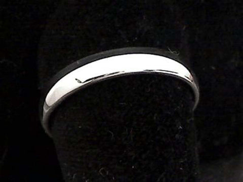 Size 12.75 Sterling Silver 4mm Ring Band