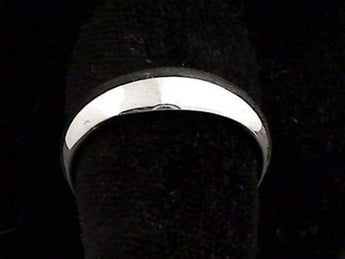 Size 12.75 Sterling Silver 5mm Ring Band