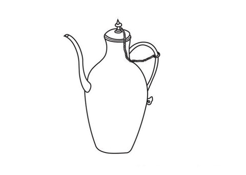 tea pot, water container
