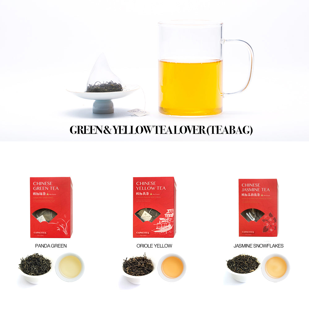 Green & Yellow Tea Lover (Teabag)