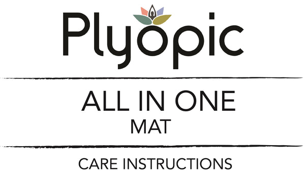 Plyopic All In One Mat Care Instructions Banner