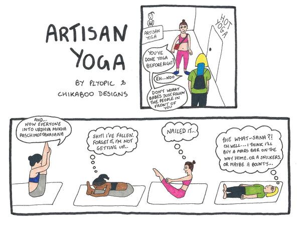 Artisan Yoga Plyopic and Chikaboo Designs