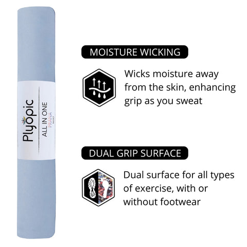 Plyopic All in One Prana Yoga Mat Features