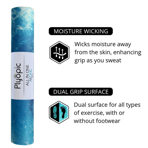 Plyopic All in One Pacific Yoga Mat Features