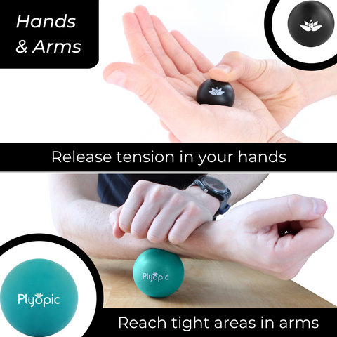 Plyopic Targeted Release Massage Ball Set - Hands and Arms