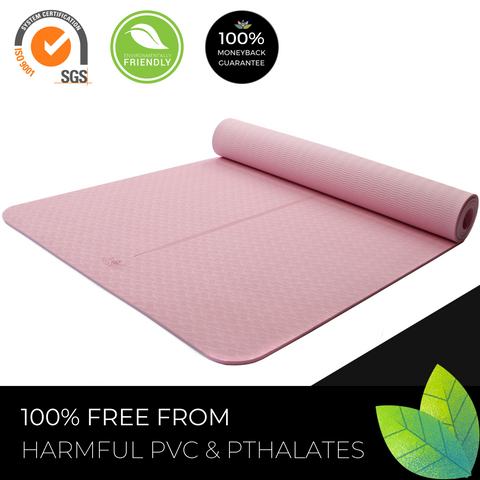 Plyopic Kids Yoga Mat - Eco Friendly Non-Toxic