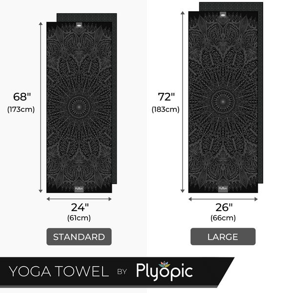 Plyopic Yoga Mat Towel - Mandala