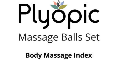 Plyopic Massage Balls Set - Body Massage Index