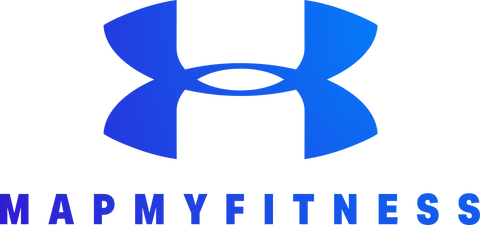 Under Armour MapMyFitness Blue Logo