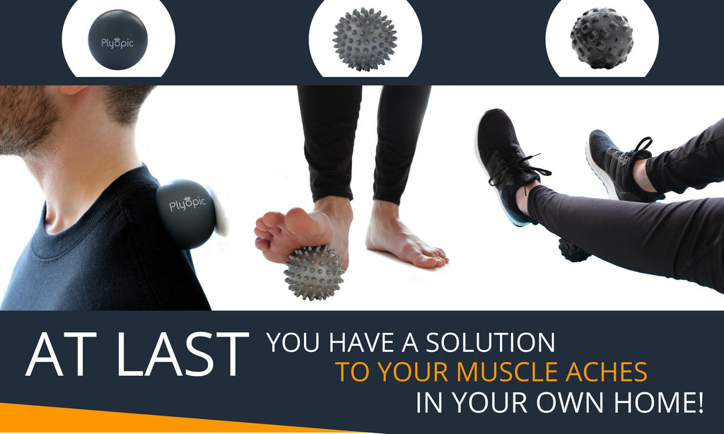 Plyopic Massage Balls Set A Solution to Muscle Aches in your Own Home