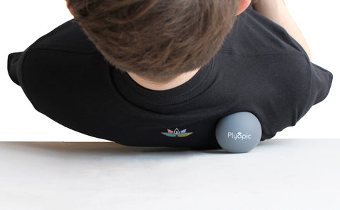 Massage Ball Shoulder Trigger Point 2