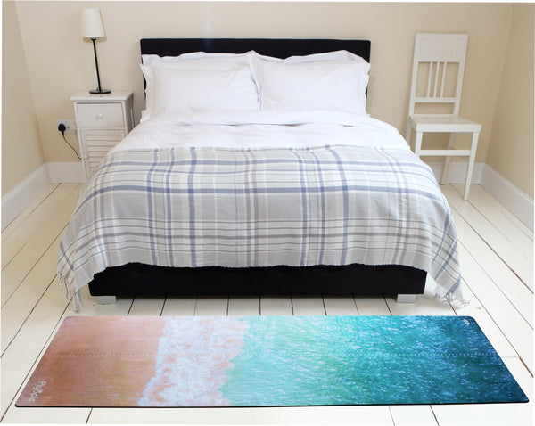 Plyopic Beach Face Mat Bedroom